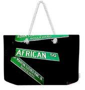 Harlem Crossroads Weekender Tote Bag