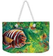 Harlequin Tuskfish Weekender Tote Bag