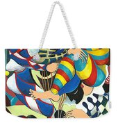 Harlequins Acting Weird - Why?... Weekender Tote Bag
