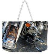 Harley Close-up W Shadow 1 Weekender Tote Bag