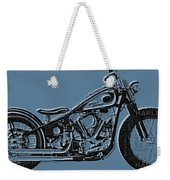 Harley-davidson And Words Weekender Tote Bag