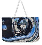 Harley Davidson Engine Weekender Tote Bag