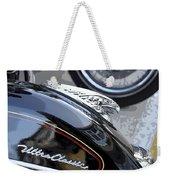 Harley Davidson Motorcycle American Eagle Fender Ornament Usa Weekender Tote Bag