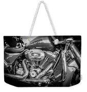 Harley Davidson Motorcycle Harley Bike Bw  Weekender Tote Bag