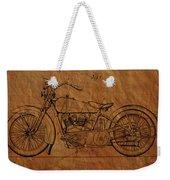Harley Davidson Patent  Weekender Tote Bag