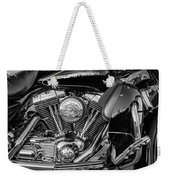 Harley Davidson Ultra Classic Monochrome Weekender Tote Bag