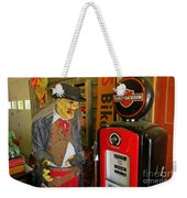 Harley Davidson Vintage Gas Pump Weekender Tote Bag