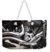 Harley Engine Close-up Rain 2 Weekender Tote Bag