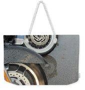 Harley Line Up Rain Weekender Tote Bag
