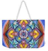 Harmony Mandala Weekender Tote Bag