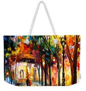 Harmony - Palette Knife Oil Painting On Canvas By Leonid Afremov Weekender Tote Bag