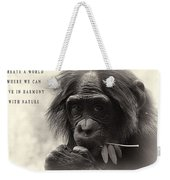 Harmony With Nature Weekender Tote Bag