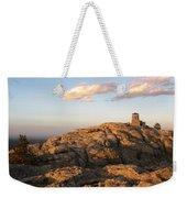 Harney Peak At Dusk Weekender Tote Bag