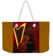 Harp And Cello Weekender Tote Bag