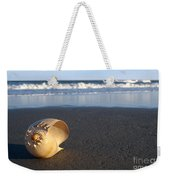 Harp Shell On Beach Weekender Tote Bag