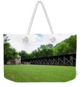 Harpers Ferry Hardware And Railroad Weekender Tote Bag