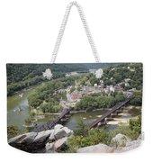 Harpers Ferry Viewed From Maryland Heights Weekender Tote Bag