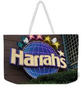 Harrahs Of New Orleans Weekender Tote Bag