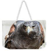 Harris Hawk Ready For Attack Weekender Tote Bag