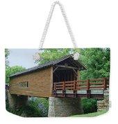 Harrisburg Covered Bridge Weekender Tote Bag