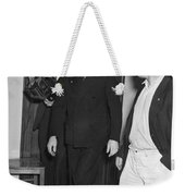 Harry Bridges Signs Pact Weekender Tote Bag
