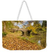 Hartford Bridge In Autumn Weekender Tote Bag