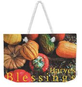 Harvest Blessings Weekender Tote Bag
