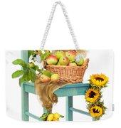 Harvest Fayre Weekender Tote Bag by Amanda Elwell