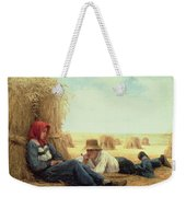 Harvest Time Weekender Tote Bag by Julien Dupre
