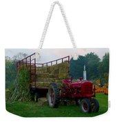 Harvest Time Tractor Weekender Tote Bag