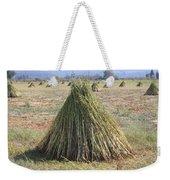 Harvested Sesame Crop Weekender Tote Bag
