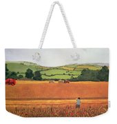 Harvesting In The Cotswolds Weekender Tote Bag