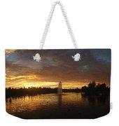 Harveston Lake Sunset Weekender Tote Bag
