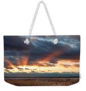 Harvey Beach Sunset Weekender Tote Bag