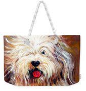 Harvey The Sheepdog Weekender Tote Bag