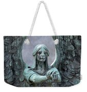 Haserot Weeping Angel Weekender Tote Bag