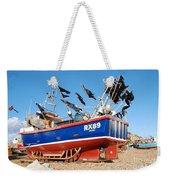 Hastings Fishing Boat Weekender Tote Bag
