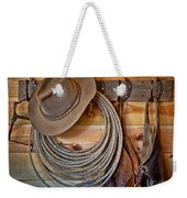 Hats And Chaps Weekender Tote Bag