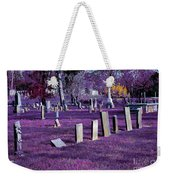 Haunted Cemetery Weekender Tote Bag