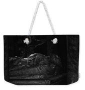 Haunted Crypt Weekender Tote Bag
