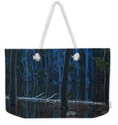 Haunted Forest Weekender Tote Bag