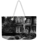Haunted - Haunted House Weekender Tote Bag by Mike Savad