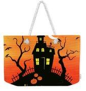 Haunted House Part One Weekender Tote Bag by Linda Mears