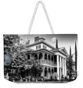 Haunted Mansion New Orleans Disneyland Bw Weekender Tote Bag