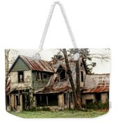 Haunted Weekender Tote Bag by Marty Koch