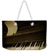 Haunted Melody Weekender Tote Bag by Amy Weiss