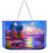 Haunting Star Weekender Tote Bag by Jane Small
