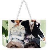 Havanese Art - Father Of The Bride Movie Poster Weekender Tote Bag