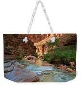 Havasu Creek Weekender Tote Bag by Inge Johnsson