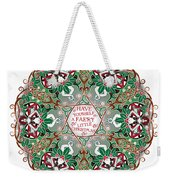 Have Yourself A Faery Little Christmas Weekender Tote Bag